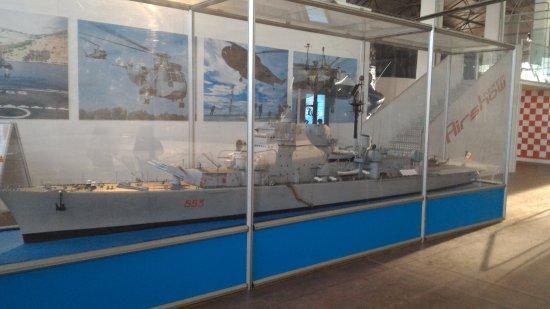 Volandia Parco e Museo del Volo Malpensa: Modellismo Marina militare.