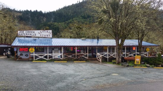Grants Pass, OR: Main office and general store.