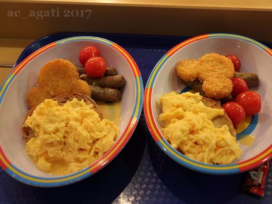 Breakfast Set Picture Of Toy Story Hotel Shanghai Tripadvisor