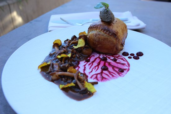 "The Lexington House: Our beet ""Wellington"" dish."