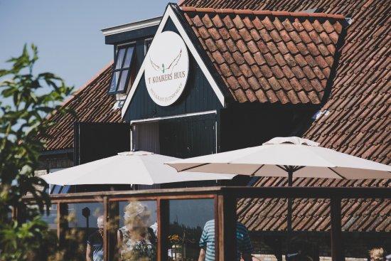 Ameland, Niederlande: Terrassen
