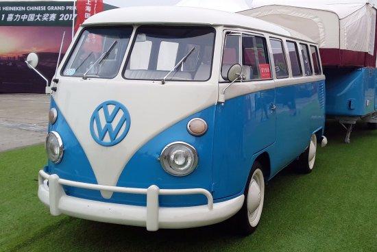 F1 Chinese Grand Prix Volkswagen Clic Van