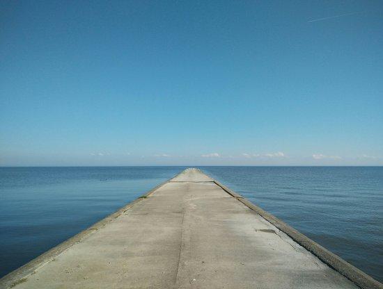 Curonian Spit / Kursiu Nerija National Park: Curonian lagoon by Nida