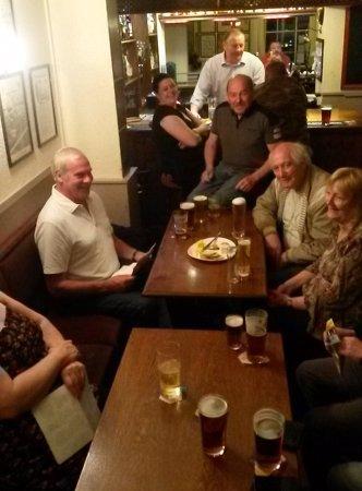 Studley, UK: Quiz night on a Sunday
