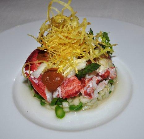 Heerlen, The Netherlands: Salade van kingcrab