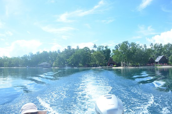 Ratua Private Island: Leaving the island