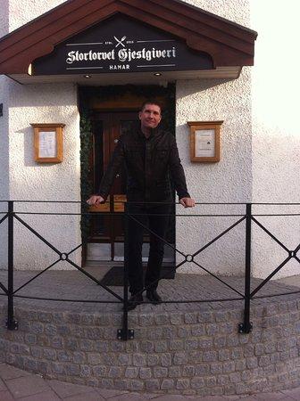 Hamar, Norwegia: Ресторан Stortorvet Gjestgiveri