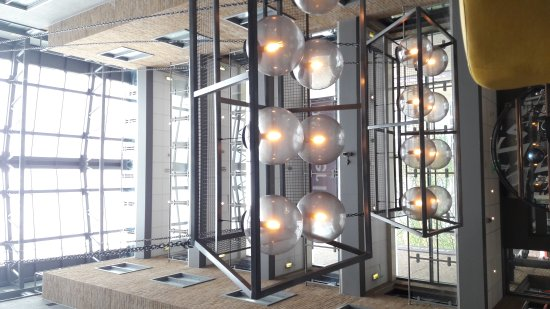 Premier Inn London Kings Cross Hotel: Foyer area