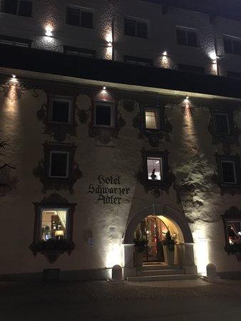 Hotel Schwarzer Adler: Front of Hotel, original building