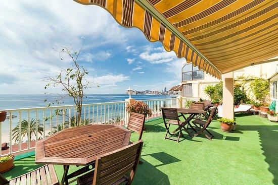 Hotel Montemar : Solarium (6ª planta)