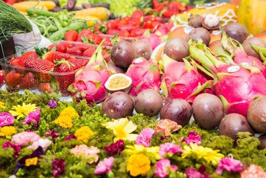 Zams, Österreich: Im Restaurant wird mit saisonalen Produkten gekocht.
