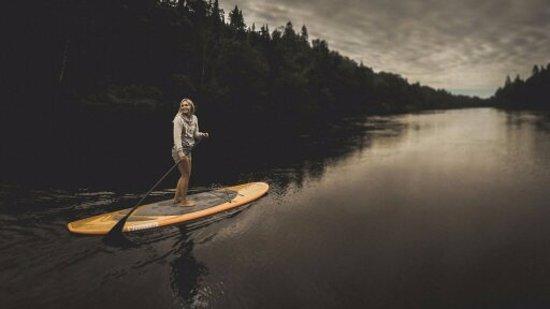 Labelle, Kanada: Rivière calme sans rapides