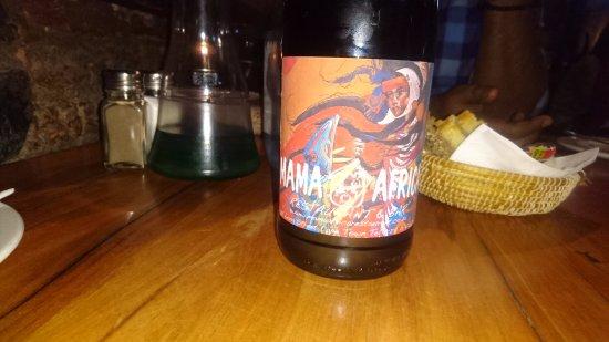 Mama Africa: the vino...
