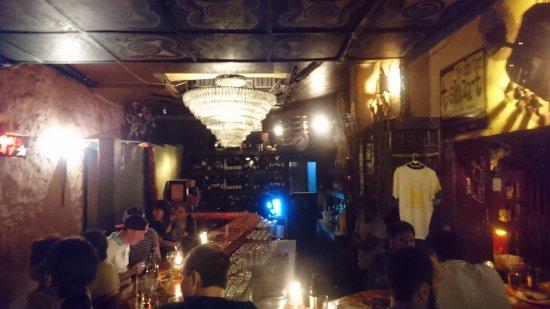 Mama Africa: the bar