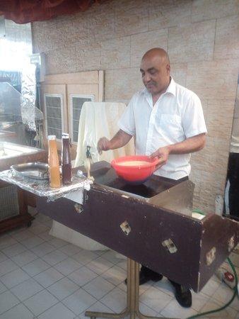 Galil Hotel: столовая