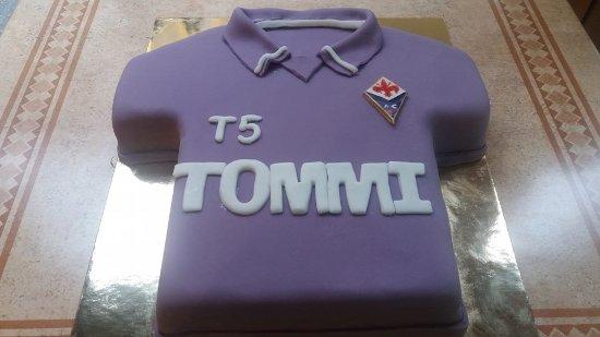 completo calcio Fiorentina personalizzata