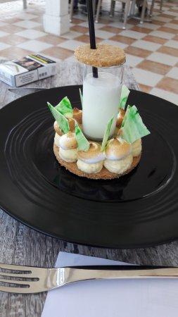 Saleilles, France: dessert saint honore revisité