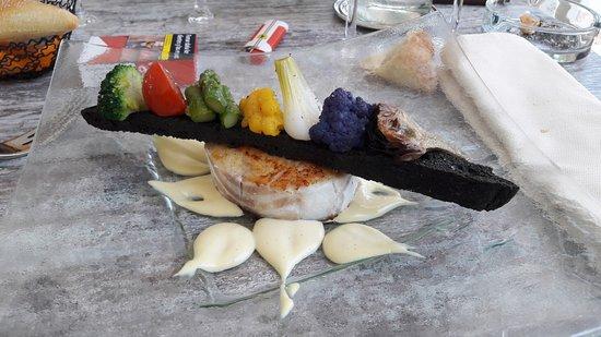 Saleilles, France: poisson avec ses legumes