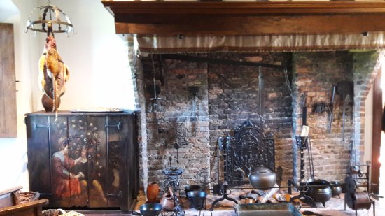Muiden, The Netherlands: De keuken