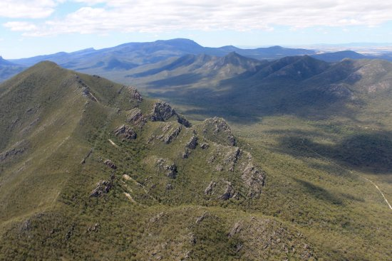 Scenic over the Grampians National park