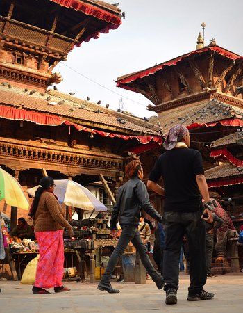 Monumental Paradise Guesthouse: short stroll to the ancient pagodas of durbar square