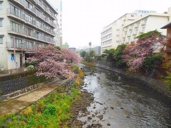 遊歩道 松川