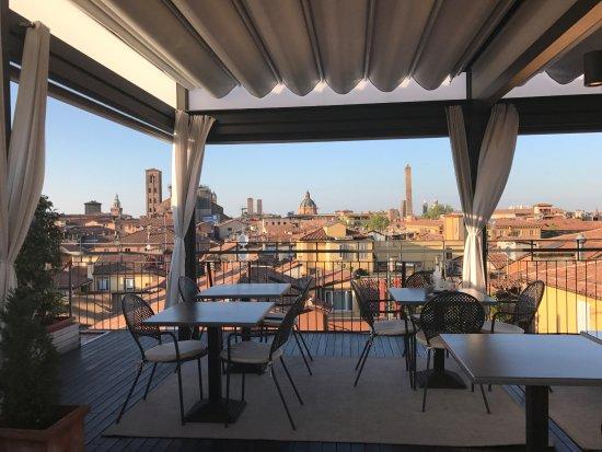 Terrazza al quinto piano - Foto di Hotel Touring, Bologna - TripAdvisor