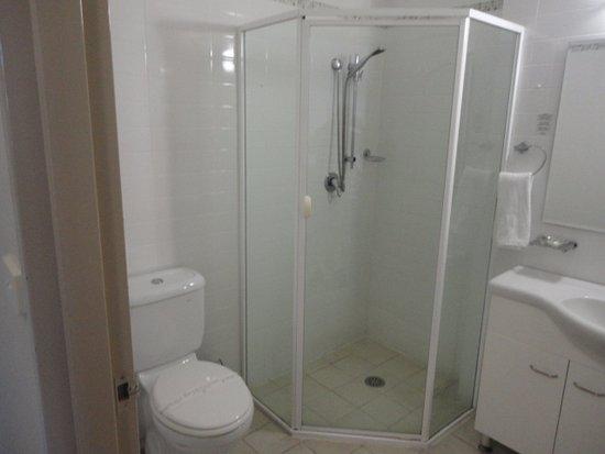 Warners Bay, Australië: good shower plenty of hot water