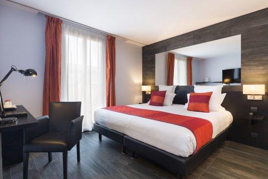 Nøktern og grei standard på Best Western Plus Hotel Massena Nice