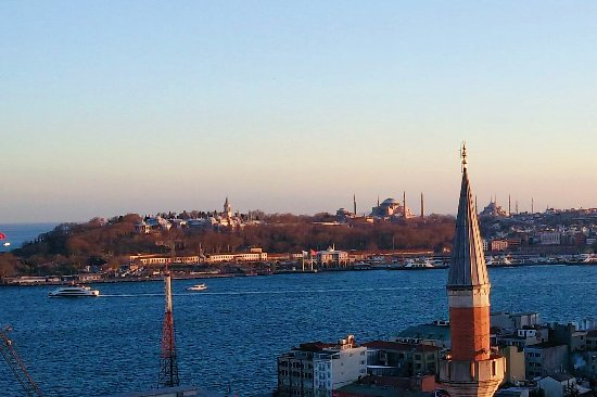 Witt Istanbul Suites: THE VIEW we wanted!