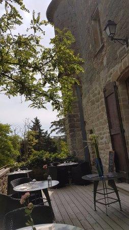 La Pomarede, Fransa: La terrasse