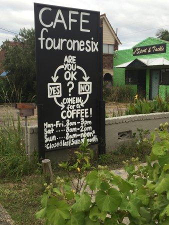 Karuah, Αυστραλία: 416-Café , Aussenansicht