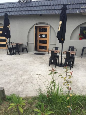 Four One Six Cafe: 416-Café , Aussenansicht