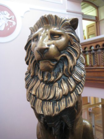 Bankfield Museum: Staircase finial