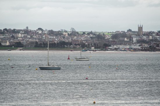Starcross, UK: View of the Exe Estuary.