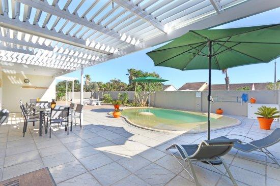 Melkbosstrand, แอฟริกาใต้: Our patio
