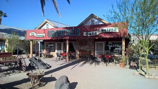 Шошоун, Калифорния: The Famous Crowbar Cafe & Saloon
