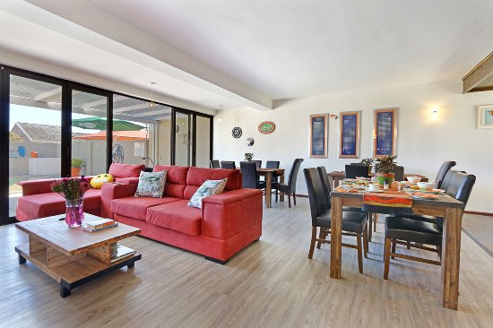 Melkbosstrand, South Africa: Our lounge and breakfast area