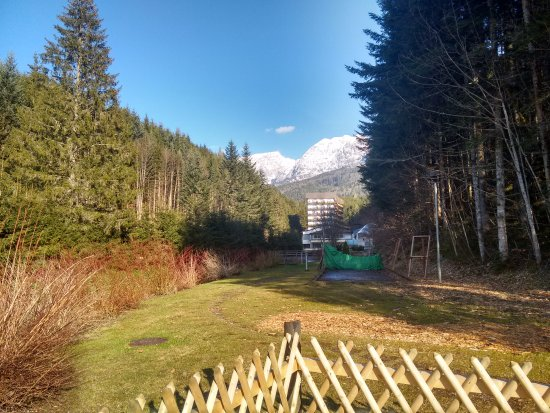 Bad Mitterndorf, Austria: There's a bow shooting range and children's playground just beside the hotel.