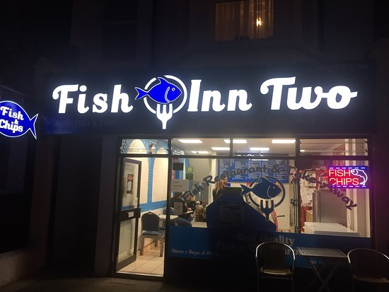 Fish Inn Two: New Sign