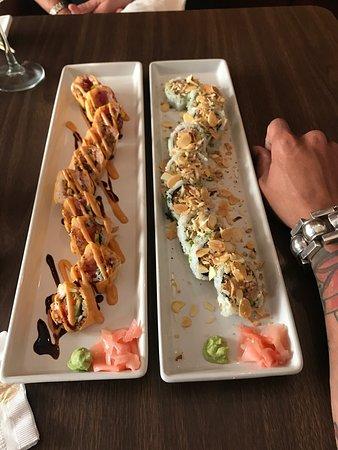 Heerlijke sushirollen