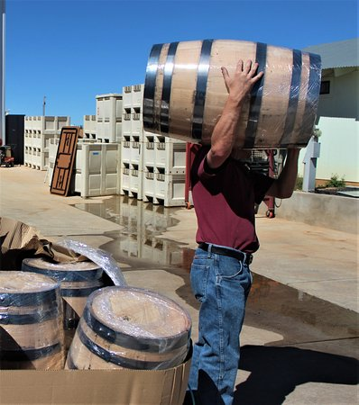 Elgin, AZ: Flying Leap's team of distillers produces fine bourbon.