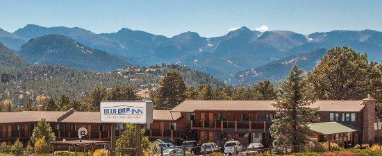 The Blue Door Inn : Famous Estes Park view of Rocky Mountain National Park