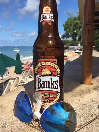 Holetown, Barbados: At the bar