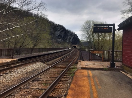 Harpers Ferry, Западная Вирджиния: Train Station