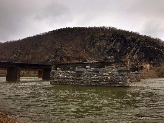 Harpers Ferry, Западная Вирджиния: Potomac and Shenandoah Rivers