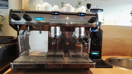 Our New Automatic Espresso Coffee Machine Espobar G 10