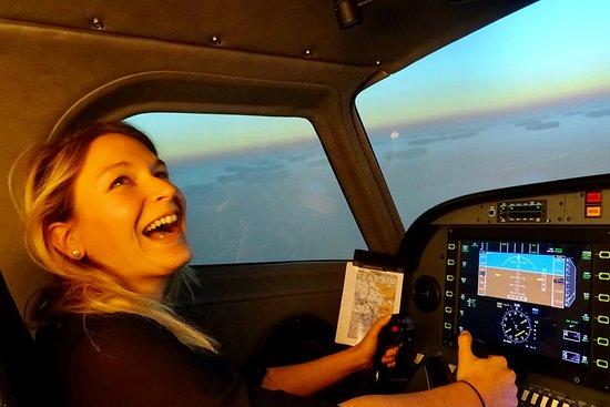 Cholet, فرنسا: Pilotez un avion de ligne sur simulateur professionnel, ouvert à tous public !