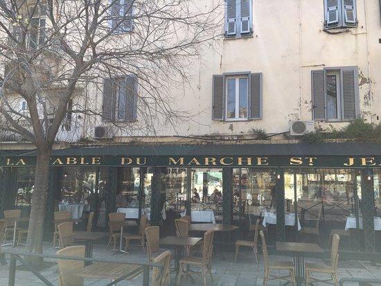 La Table du Marche : お店外観