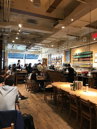Photo of Bakery Le Pain Quotidien at 70 W 40th St, New York, NY 10018, United States